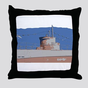 Sub Throw Pillow
